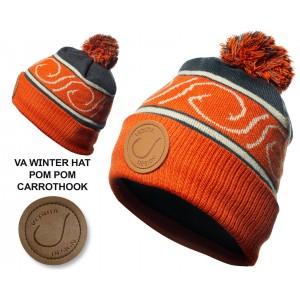 Шапка зимняя Veduta  Pompom Hat Carrot Hook флис