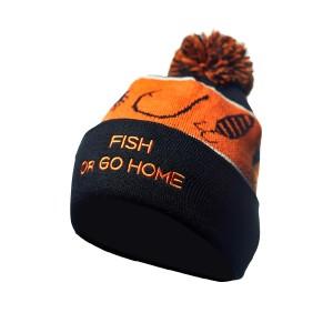 Шапка зимняя Veduta Pompom Hat Fish Or Go Home