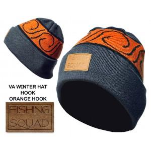 Шапка зимняя Veduta Winter Hat Cuff Fishing squad hook оранжевый